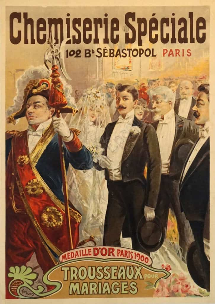 Chemiserie Speciale Vintage Posters