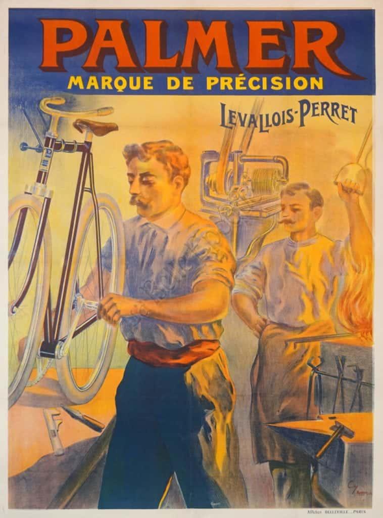 Palmer Marque de Precision Vintage Posters
