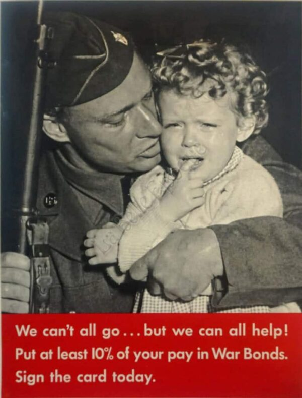 We Can't all go . . . but we can all help! Vintage Posters