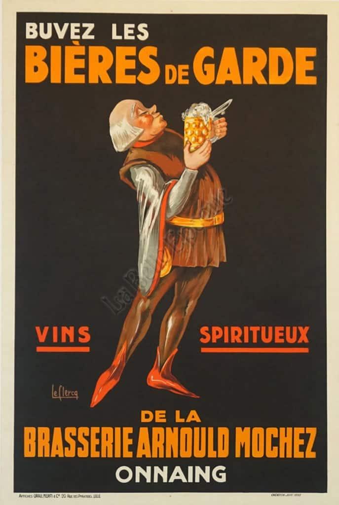 Bieres de Garde Vintage Posters