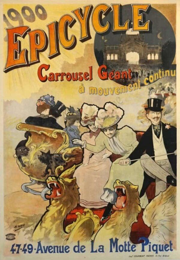 1900 Epicycle Vintage Posters