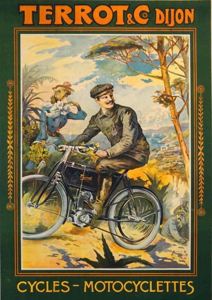 Terrot & Co Dijon Vintage Posters