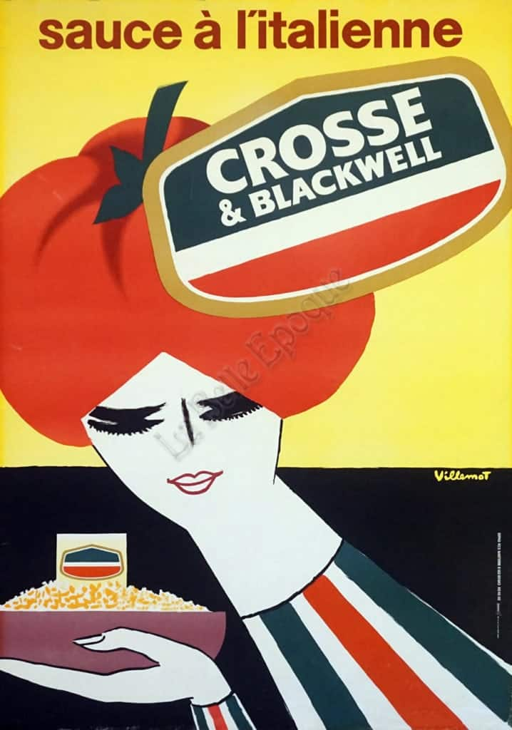 Crosse & Blackwell Sauce a L'Italienne Vintage Posters