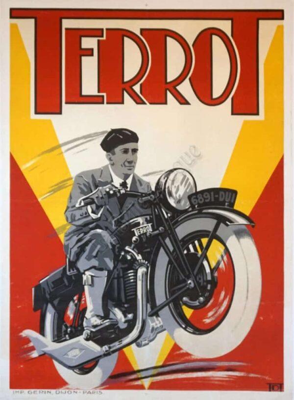 Terrot Vintage Posters