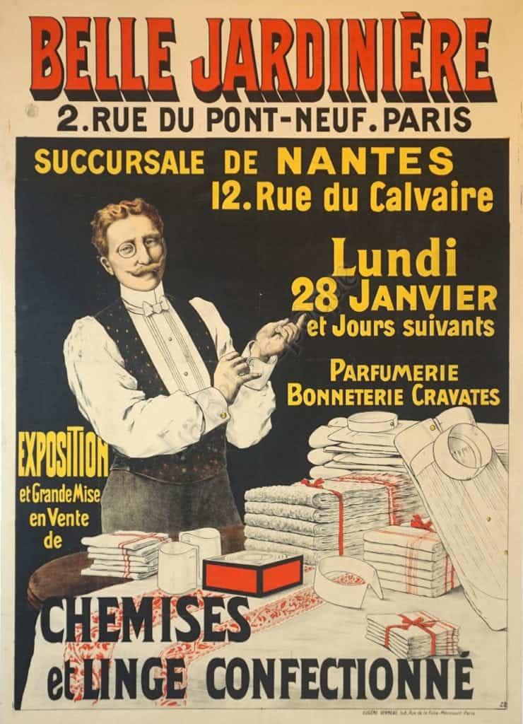 Belle Jardiniere Vintage Posters