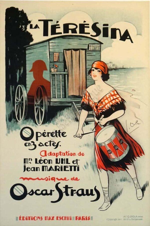 La Teresina Vintage Posters