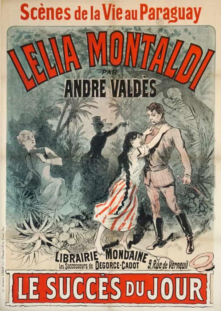 Lelia Montaldi Andre Valdes Vintage Posters