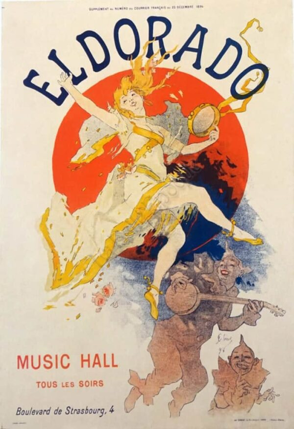 Eldorado Music Hall Vintage Posters