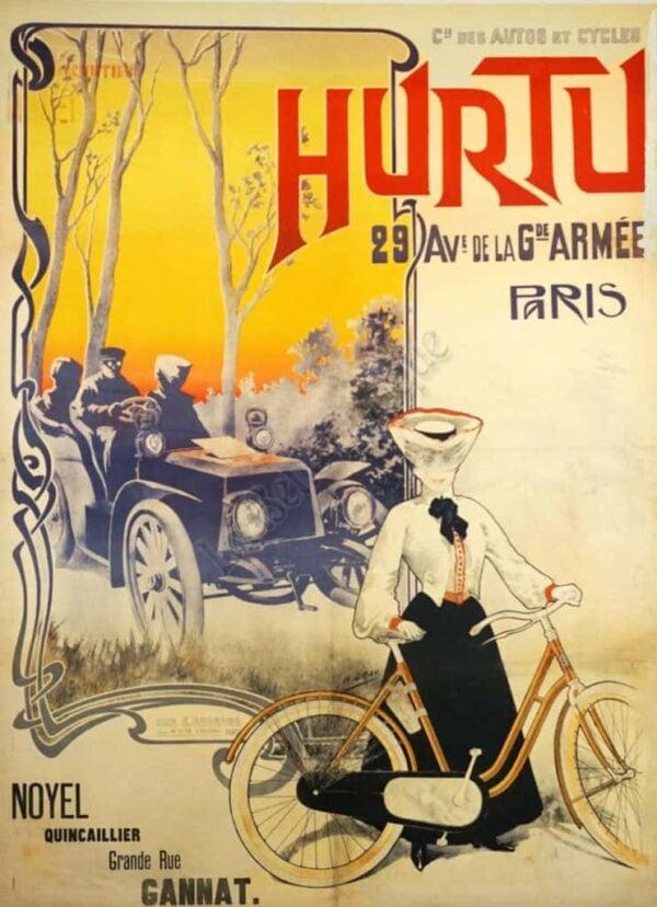 Hurtu Paris Vintage Posters