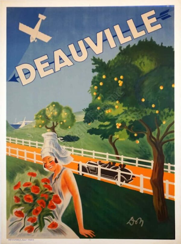 Deauville Vintage Posters