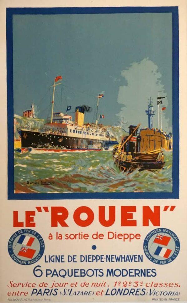 """Le """"Rouen"""" Vintage Posters"""