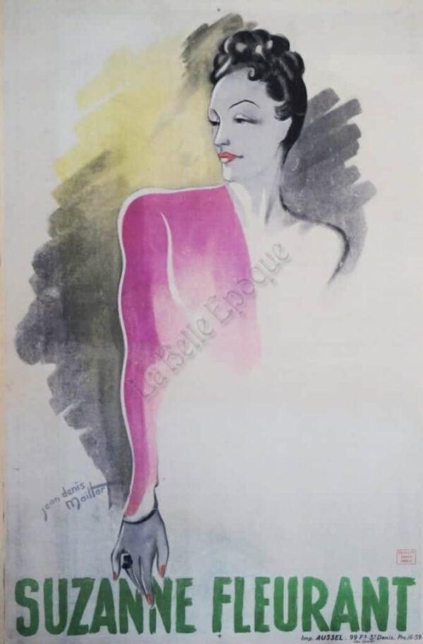Suzanne Fleurant Vintage Posters