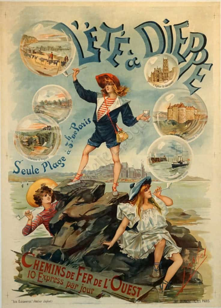 Lete a Dieppe Vintage Posters