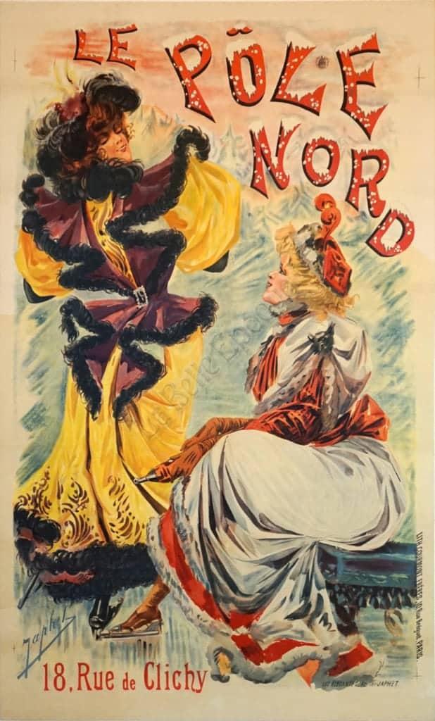 Le Pole Nord Vintage Posters