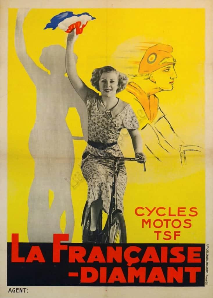 La Francaise - Diamant Vintage Posters