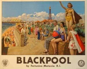 Blackpool Vintage Posters