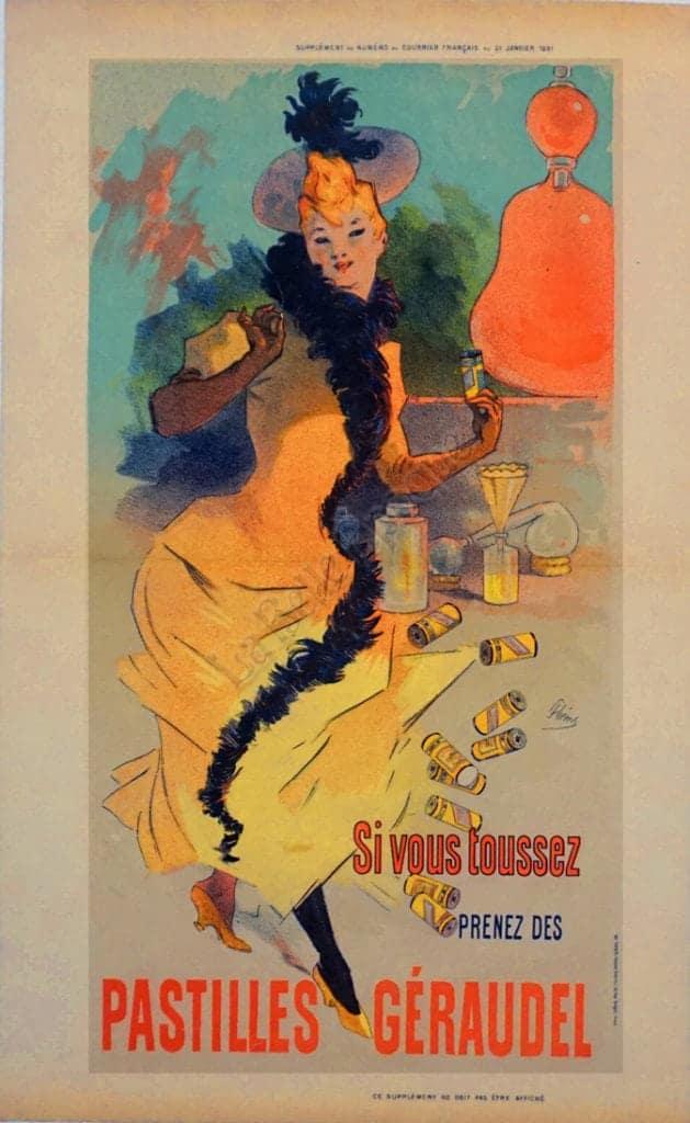 Pastilles Geraudel Vintage Posters