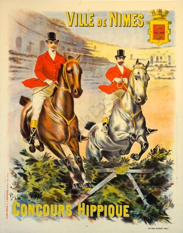 Ville de Nimes Vintage Posters
