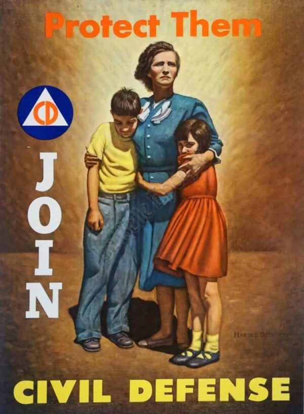 Protect Them Join Vintage Posters