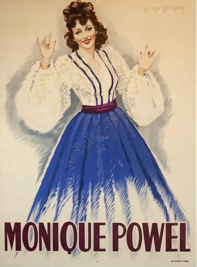 Monique Powel Vintage Posters