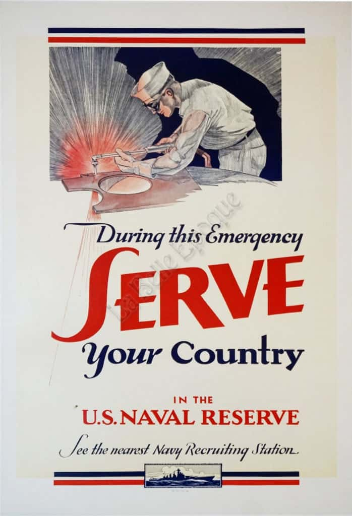 During this Emergency Serve your Country Vintage Posters