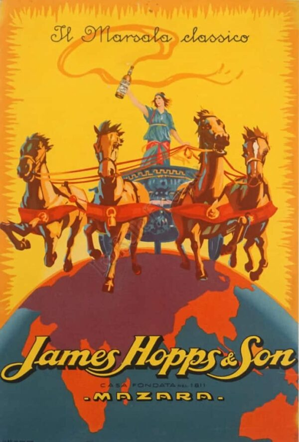 James Hopps & Son Vintage Posters