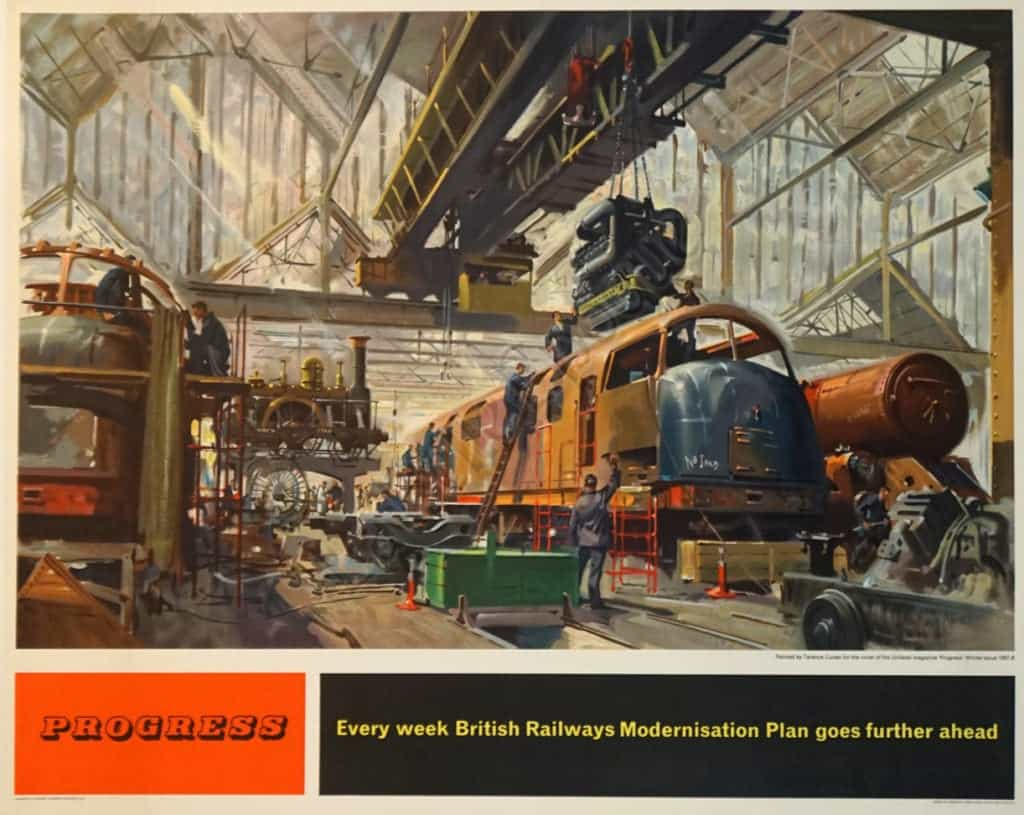 Progress British Railways Vintage Posters
