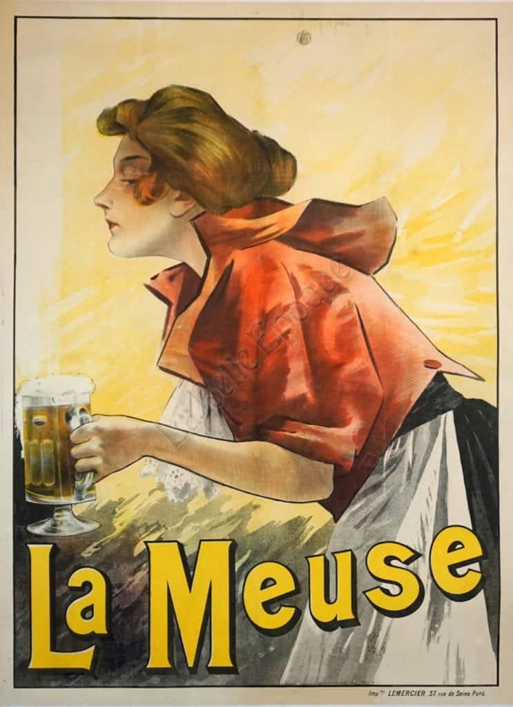 La Meuse Vintage Posters
