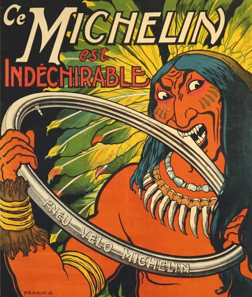 Ce Michelin est Indechirable Vintage Posters