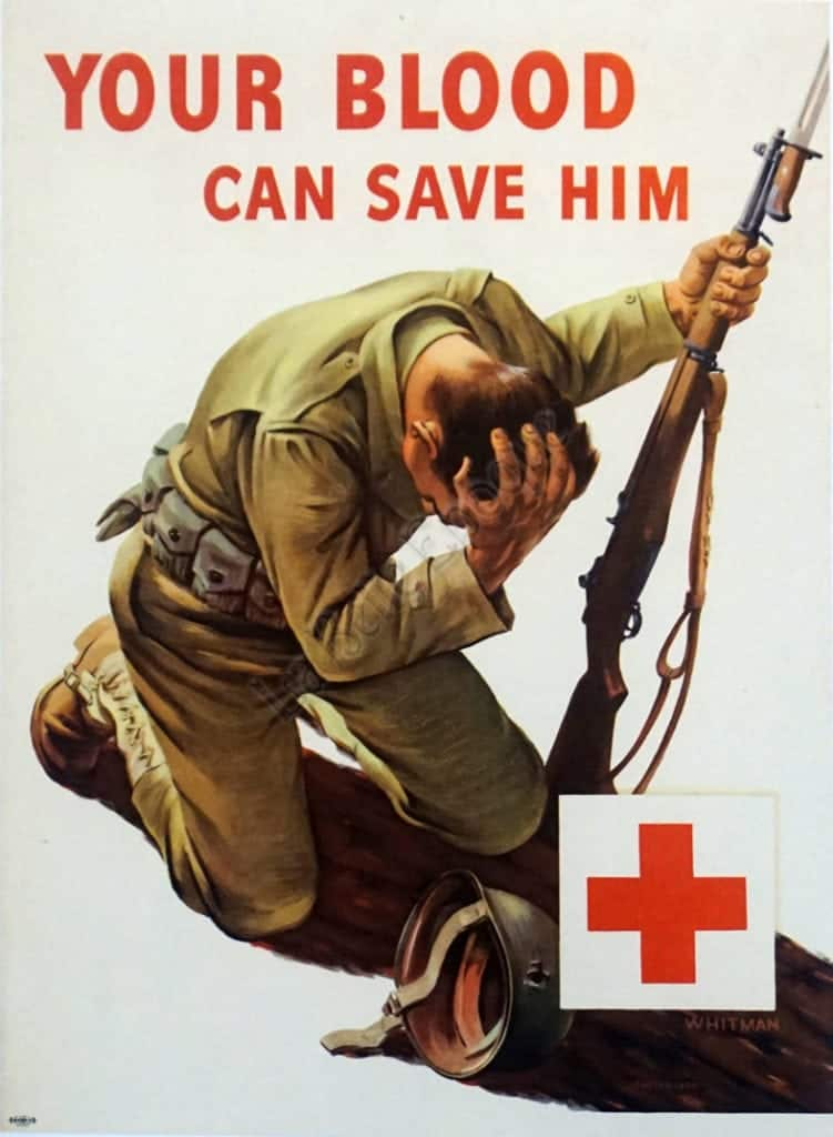 Your Blood Can Save Him Vintage Posters