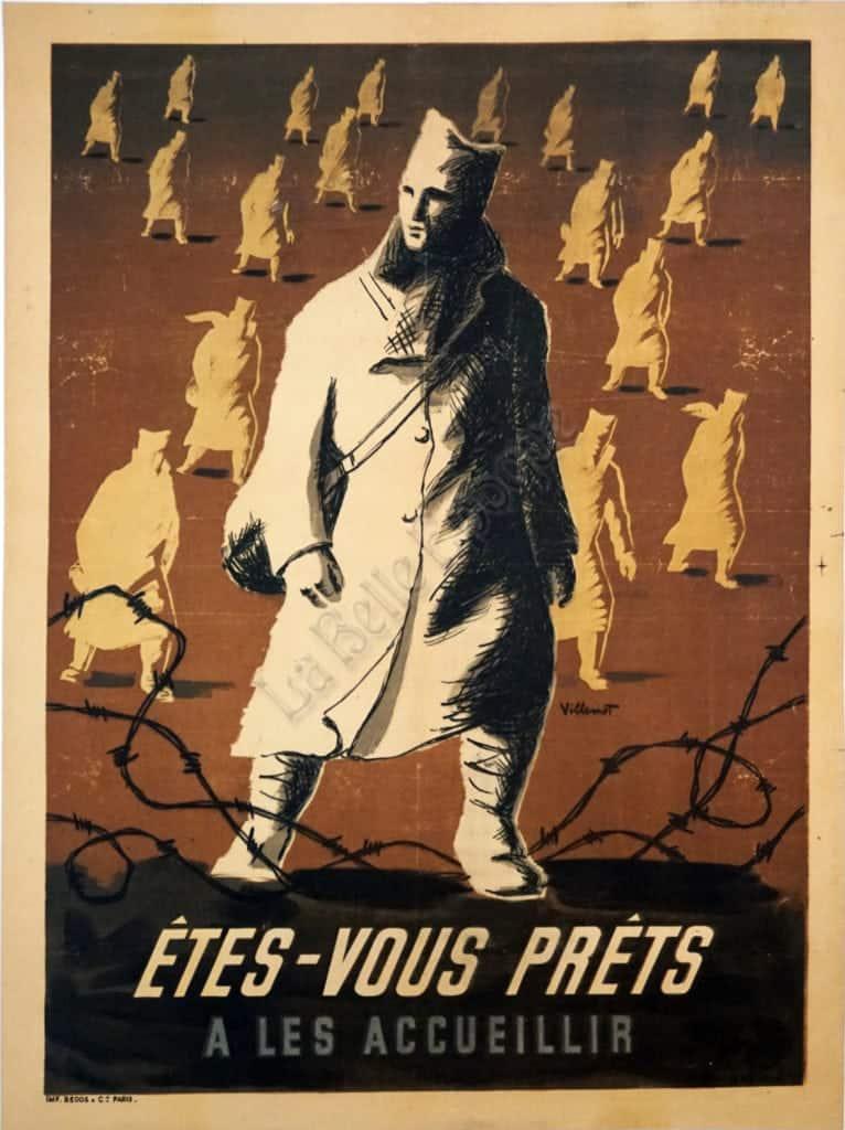 Etes-Vous Prets Vintage Posters