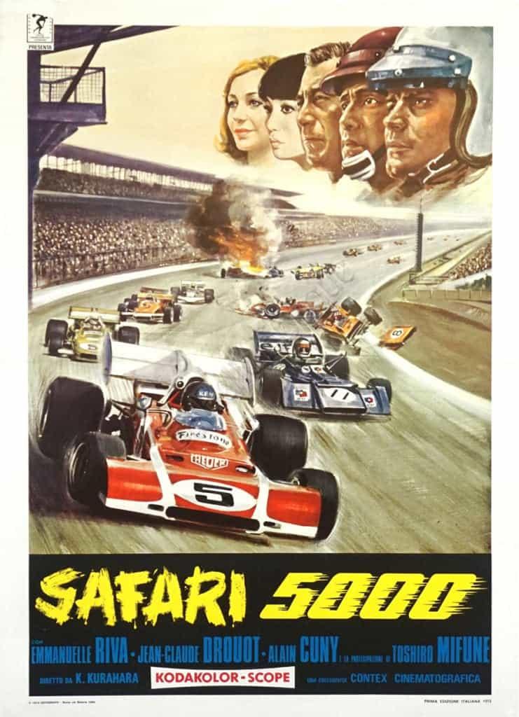 Safari 5000 Vintage Posters