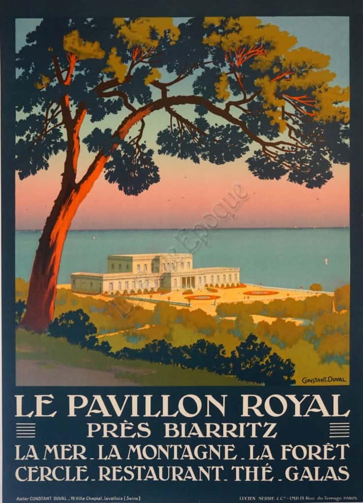 Le Pavillon Royal Vintage Posters