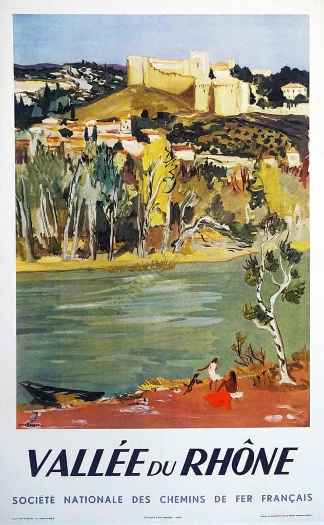 Vallee du Rhone Vintage Posters