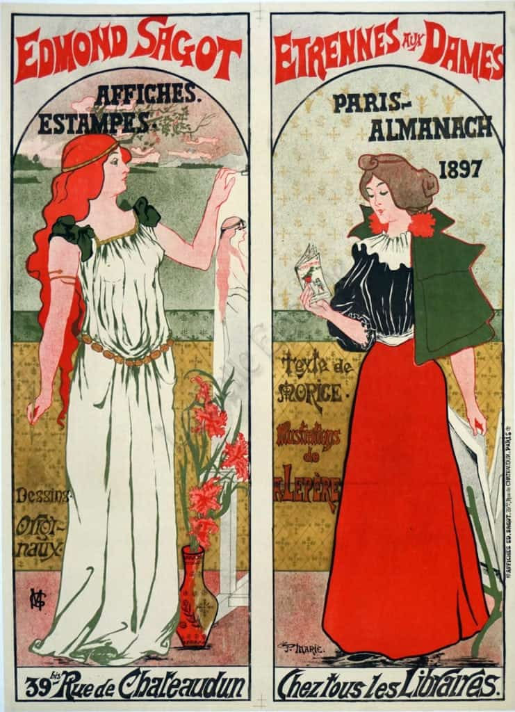 Edmond Sagot Vintage Posters