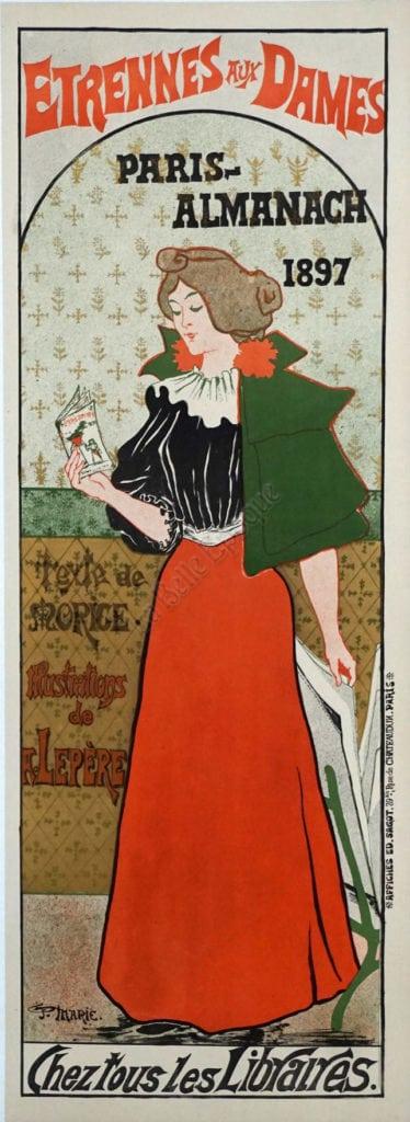 Etrennes Aux Dames Vintage Posters