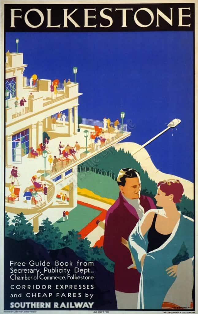 Folkestone Vintage Posters