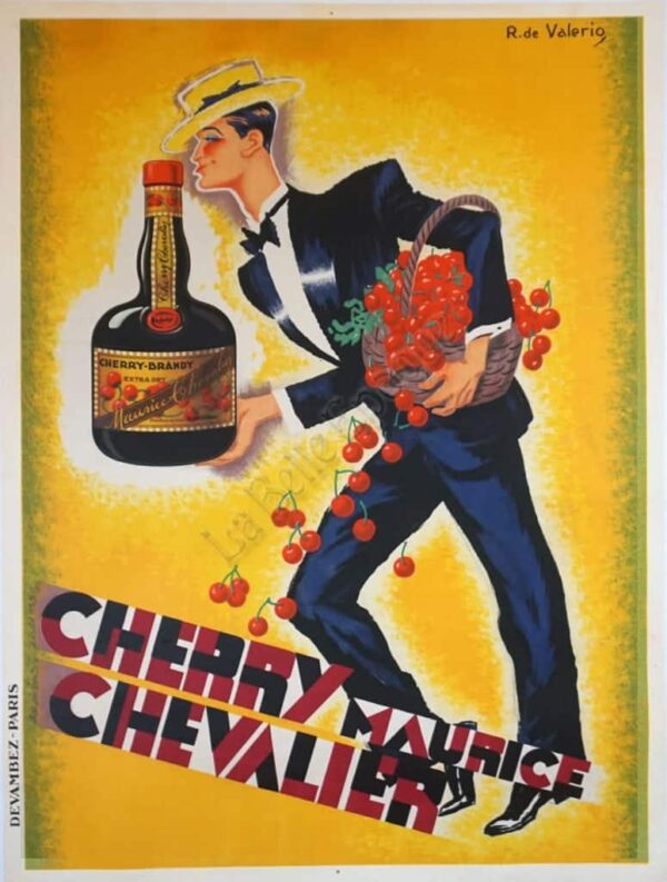 Cherry Maurice Chevalier Vintage Posters