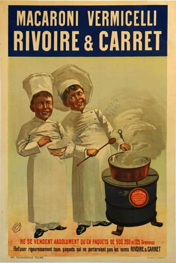 Macaroni Vermicelli Rivoire & Carret Vintage Posters