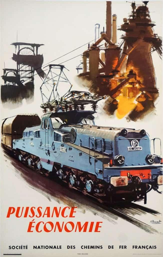 Puissance Economie Vintage Posters