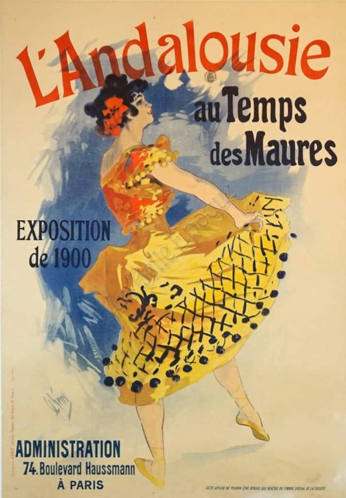 L'Andalousie Vintage Posters