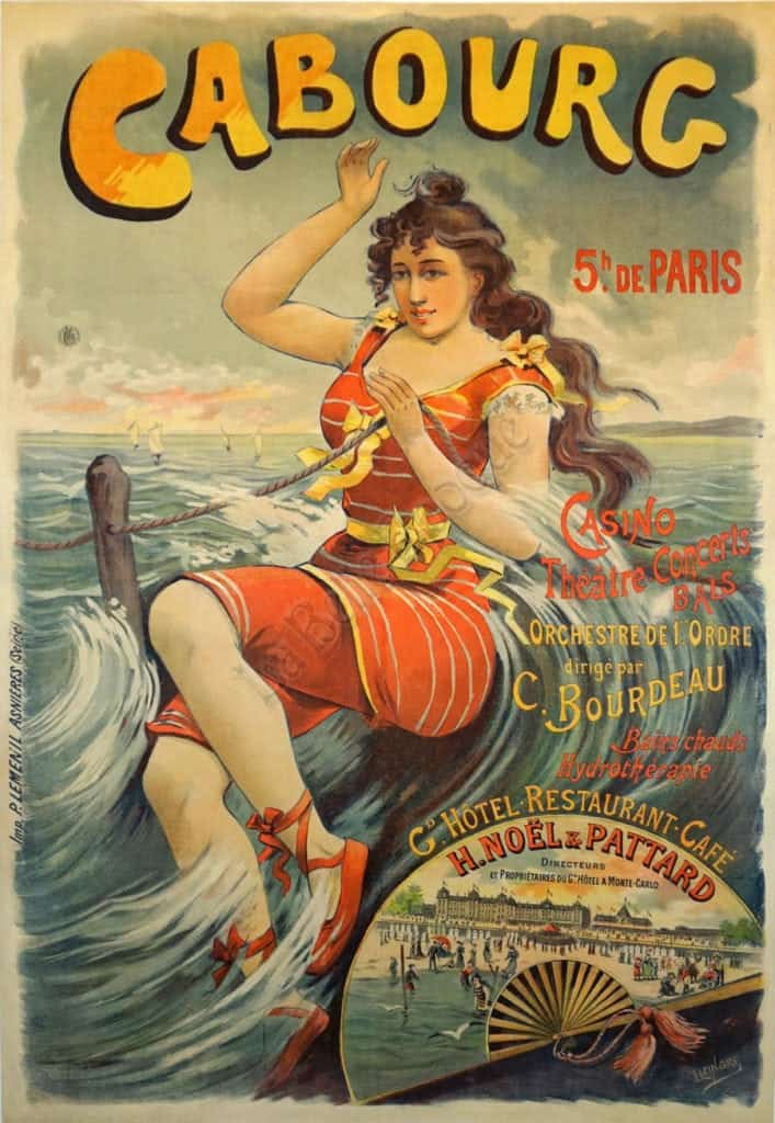 Cabourg Vintage Posters