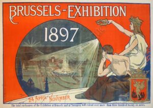 Brussels-Exhibition 1897 Vintage Posters