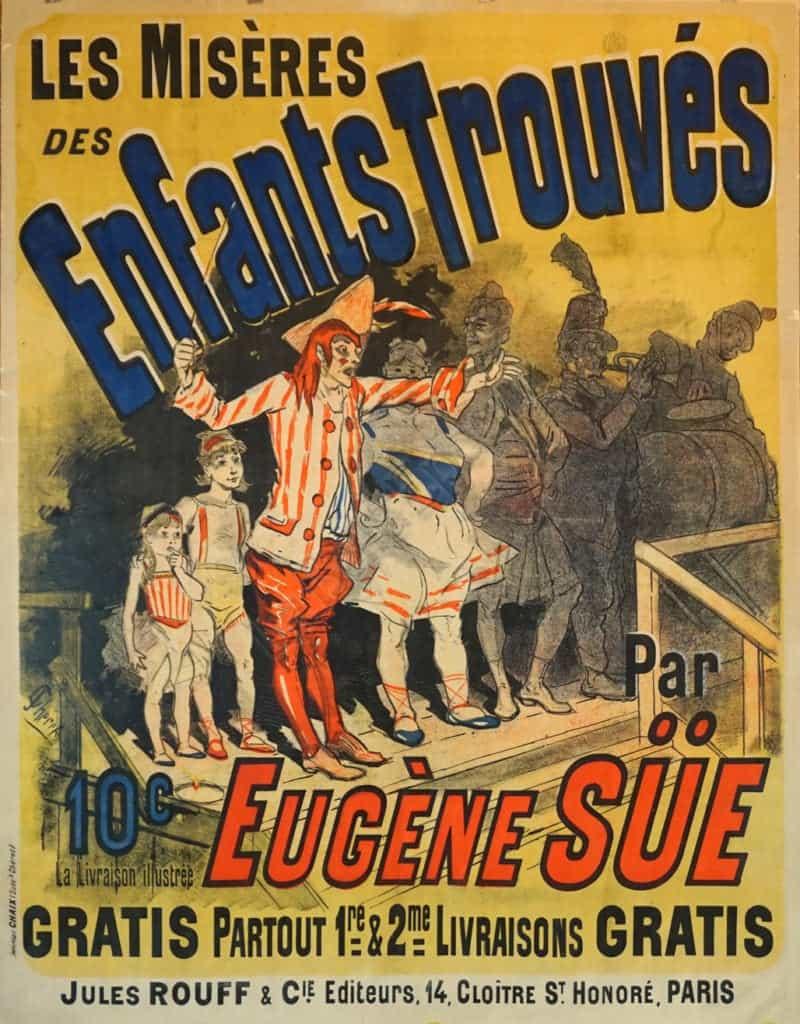 Les Miseres des Enfants Trouves Vintage Posters