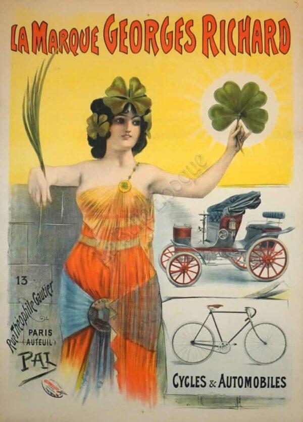 La Marque Georges Richard Vintage Posters