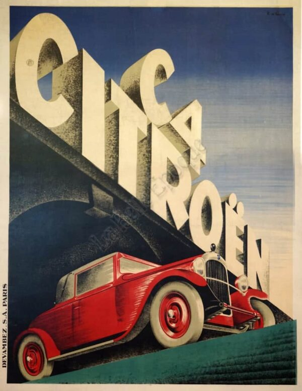 C4 Citroen Vintage Posters