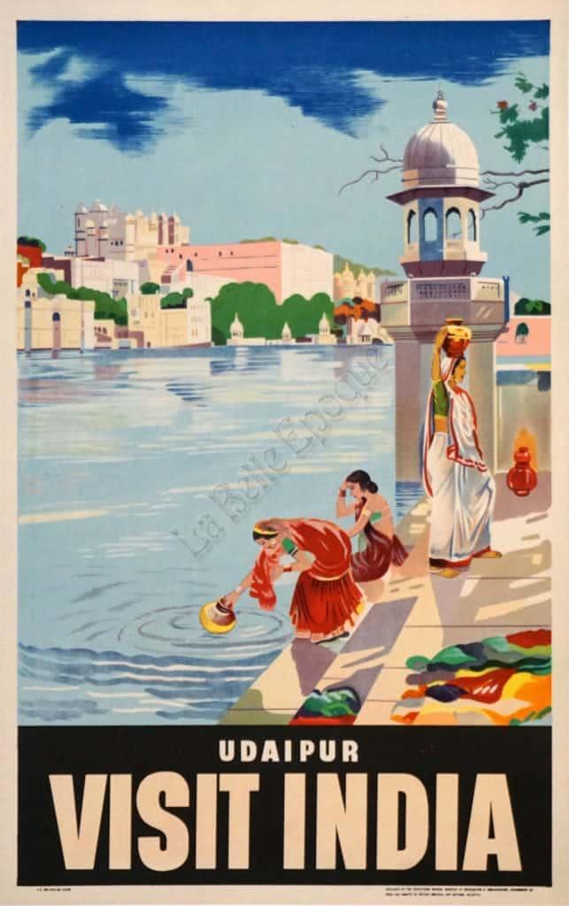 Visit India Vintage Posters