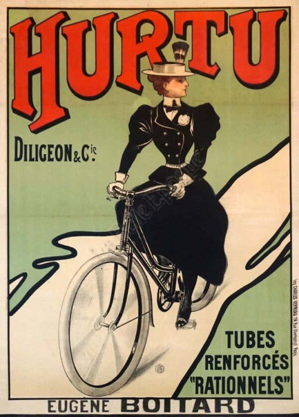 Hurtu Diligeon & Cie. Vintage Posters