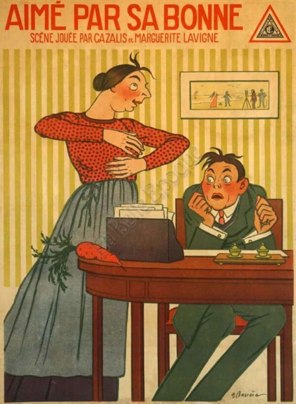 Aime Par Sa Bonne Vintage Posters