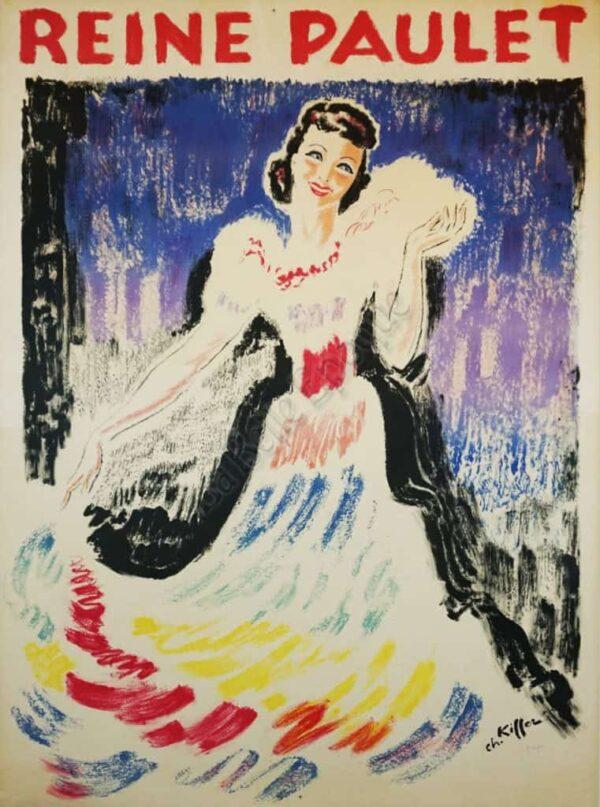 Reine Paulet Vintage Posters